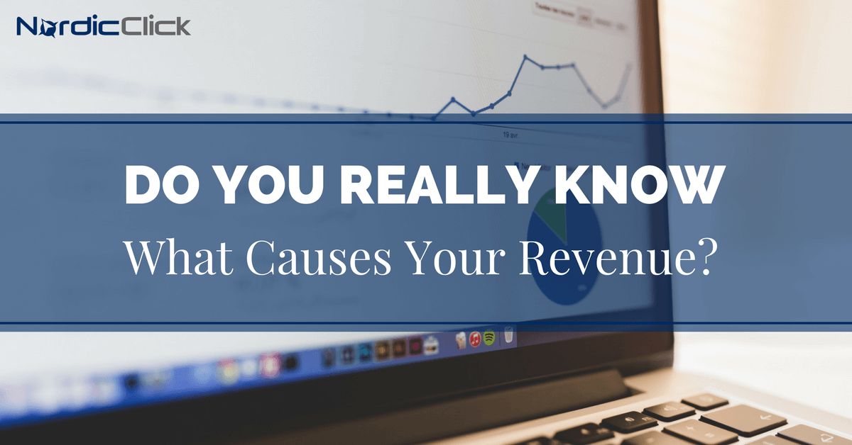 Do You Really Know What Causes Your Revenue?