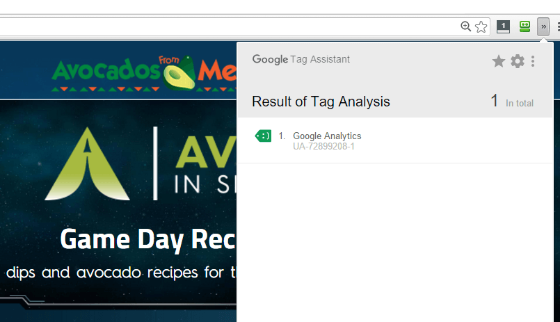 Google-Analytics-Tag-example