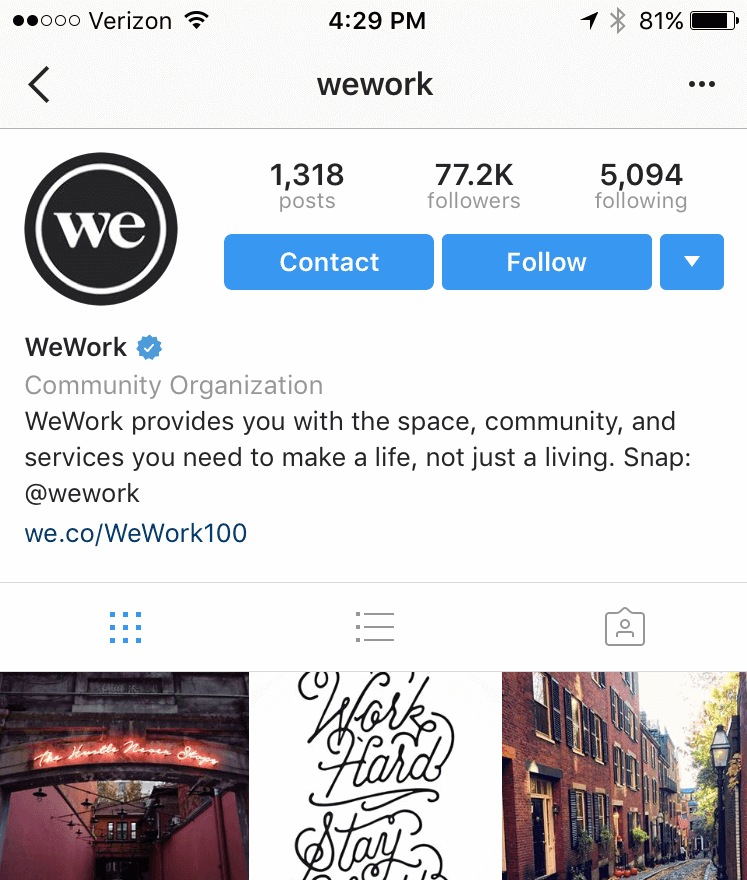 Be Helpful - WeWork Example
