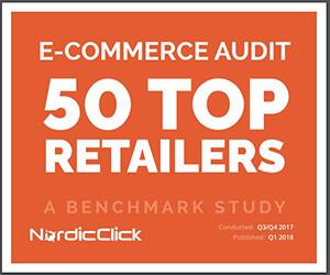 Retail E-Commerce Audit Benchmark Study - NordicClick