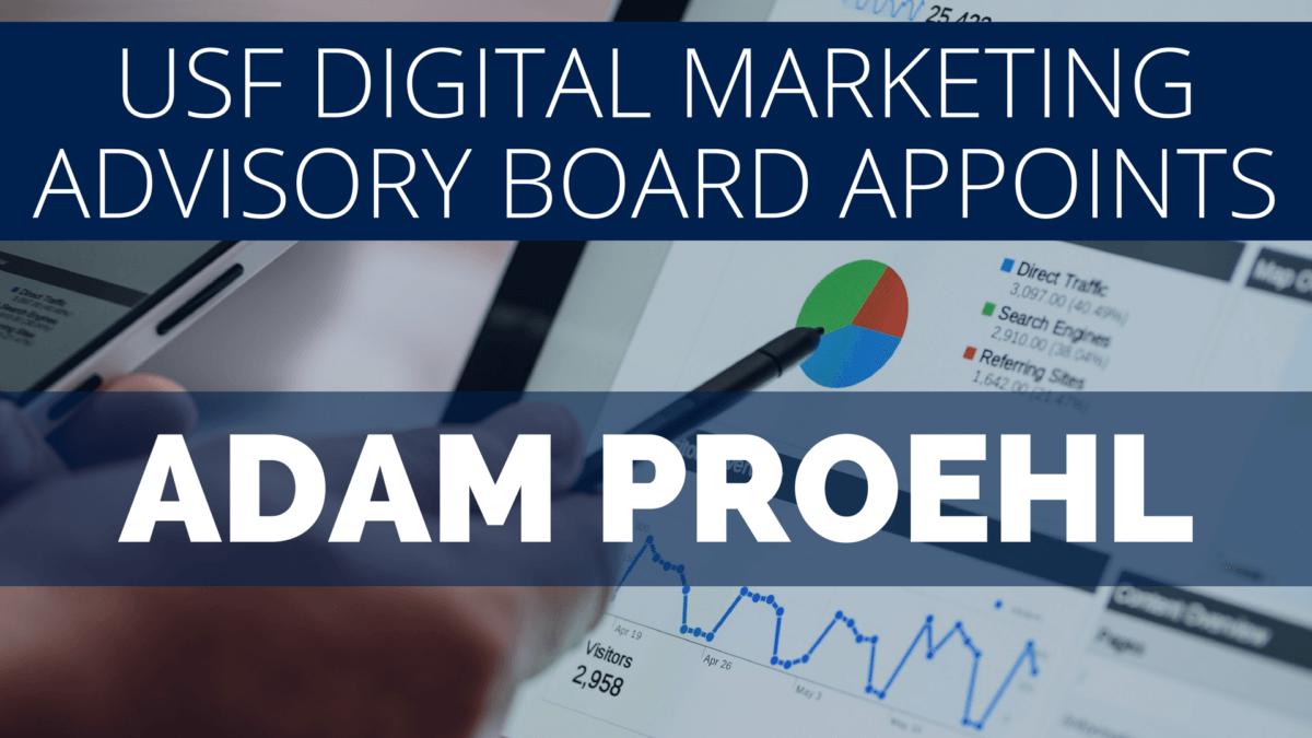 Adam Proehl Appointed to Digital Marketing Advisory Board - NordicClick