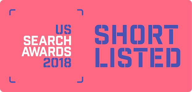 US Search Awards 2018 - Short Listed