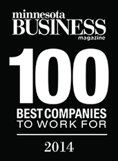 Minnesota Business Magazine - 100 Best Companies To Work For - 2014 - NordicClick