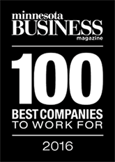 Minnesota Business Magazine - 100 Best Companies To Work For - 2016 - NordicClick