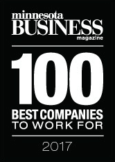 Minnesota Business Magazine - 100 Best Companies To Work For - 2017 - NordicClick