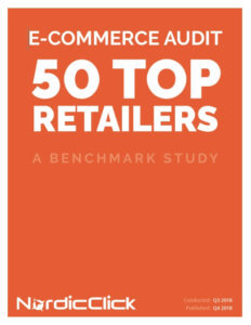2018 Retail Ecommerce Benchmark Study