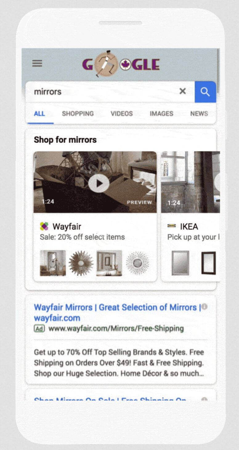 google-video-showcase-shopping-ads