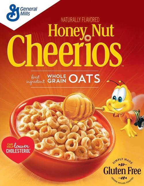 Honey Nut Cheerios Box