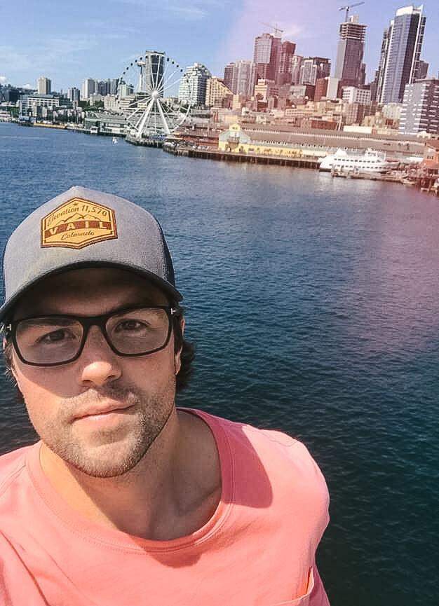 Seattle Pier Selfie