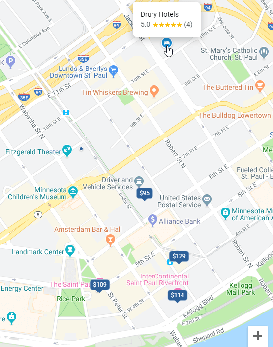 Hotel-Without-Pricing-on-Map